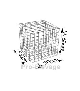 Pack 70 Gabions 2000x500x300 100*50 Fil 4.5mm