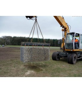Pack 20 Gabions 2000x500x500 100*100 Fil 4.5mm