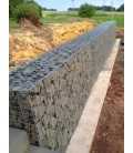 Pack 20 Gabions 2000x1000x500 100*100 Fil 4.5mm