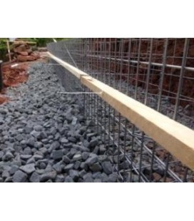 Pack 50 Gabions 2000x1000x500 100*100 Fil 4.5mm