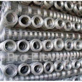 Pack Rouleaux 1.50m de haut 50 ml de Grillage Forestier GALVA STANDARD fil 2.2 / 1.8 mm 14 fils