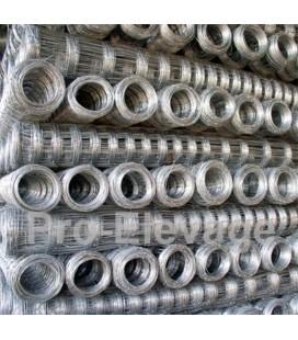 Pack Rouleaux 1.60m de haut 50 ml de Grillage Forestier GALVA STANDARD fil 2.2 / 1.8 mm 15 fils