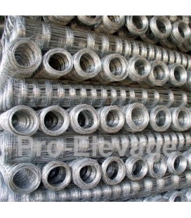 Pack Rouleaux 1.60m de haut 50 ml de Grillage Forestier GALVA STANDARD fil 2.2 / 1.8 mm 19 fils