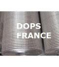 Grillage volieres galvaniser soudé 6,3x6,3/fil 0,55/1000/25m