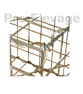 Pack 20 Gabions 1000x1000x500 100*50 Fil 4.5mm
